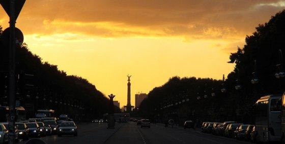 A.Kiškytės nuotr./Žymioji Berlyno gatvė
