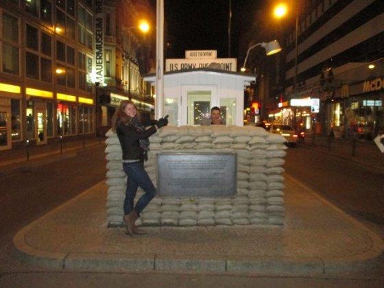 A.Kiškytės nuotr./Prie likusio Berlyno sienos posto