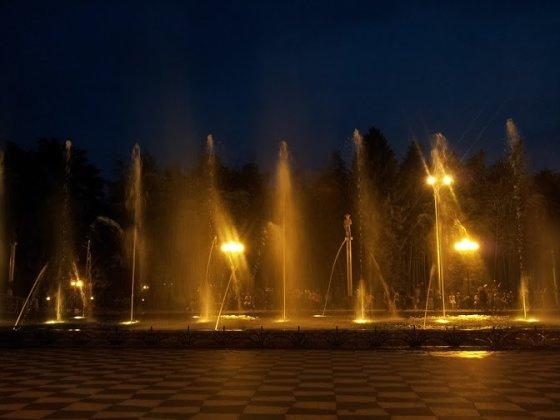 Arūnės Oškinytės nuotr./Šokantys fontanai