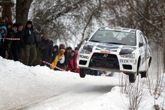 "Eriko Ovčarenko/15min.lt nuotr./""Halls Winter Rally 2013"""