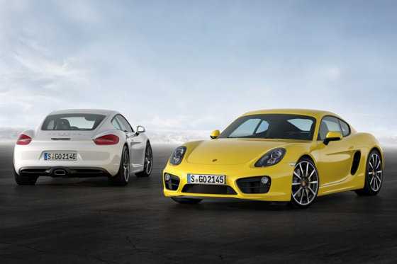 "Gamintojo nuotr./""Porsche Cayman"""