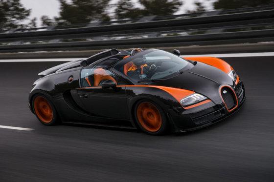 "Gamintojo nuotr./""Bugatti Veyron Grand Sport Vitesse"""