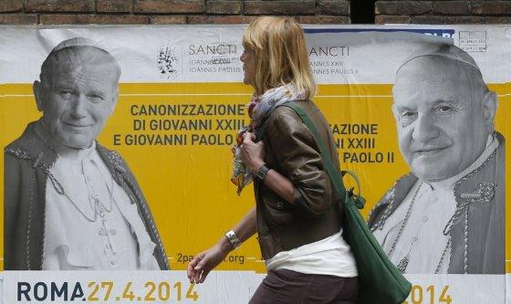 """""""Scanpix"""" nuotr./Roma ruošiasi dvigubai kanonizacijai"""