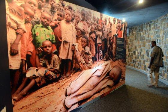 """""""Scanpix"""" nuotr./Ruandos genocido memorialas Nyamatoje"""