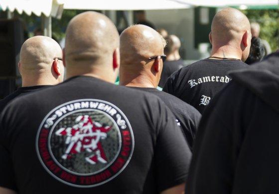 """""""Scanpix"""" nuotr./Vokietijos ultradešiniųjų Nacionalinės demokratinės partijos festivalis"""