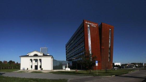"""""""Architektūros centras"""" nuotr./Ciciurka, viešbutis Aurora Klaipėdoje"""