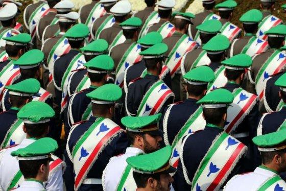 "AFP/""Scanpix"" nuotr./Iranas mini Islamo Respublikos 35-ąsias metines"