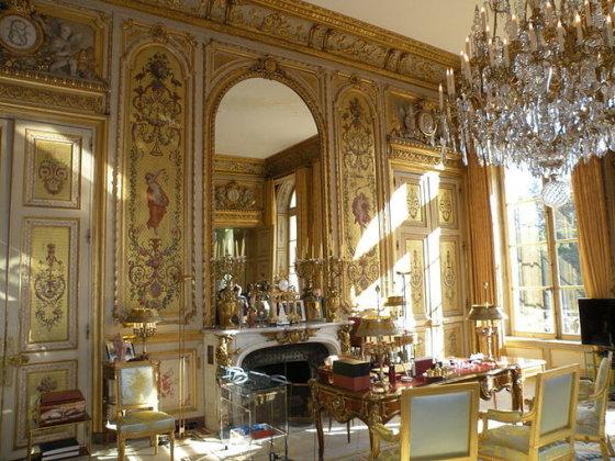 Wikipedia nuotr./Paauksuotasis salonas - Prancūzijos prezidento kabinetas Eliziejaus rūmuose