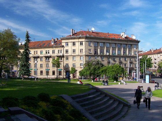 Buvusios Vilniaus žydų gimnazijos pastatas