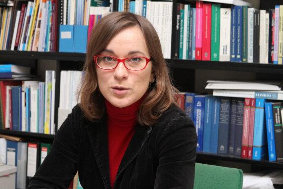Vytauto Valentinavičiaus nuotr./Žmogaus teisių centro teisininkė Birutė Sabatauskaitė