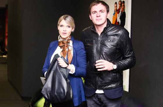 Luko Balandžio/Žmonės.lt nuotr./Aistė Stonytė-Budzinauskienė su vyru Dariumi