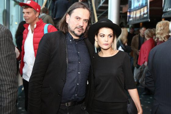 Luko Balandžio/Žmonės.lt nuotr./Oskaras Koršunovas ir Monika Dirsytė