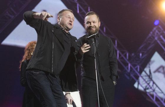 Luko Balandžio/Žmonės.lt nuotr./M.A.M.A muzikos apdovanojimai