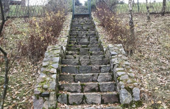 Luko Balandžio/Žmonės.lt nuotr./Nelegalūs laiptai