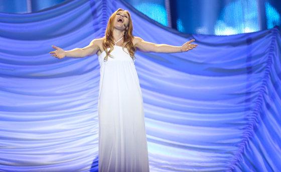 Luko Balandžio/Žmonės.lt nuotr./San Marino atstovė Valentina Monetta