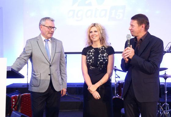 Luko Balandžio/Žmonės.lt nuotr./Rimantas Bagdzevičius ir Rolandas Kazlas