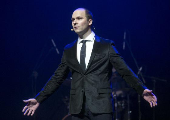 """Luko Balandžio/Žmonės.lt nuotr./""""Vilnius Comedy Fest"""" renginys"""