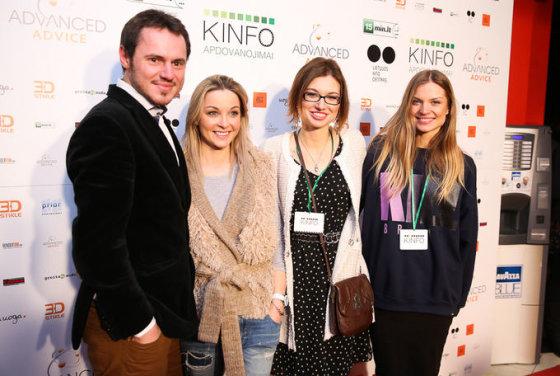 KINFO apdovanojimų akimirka