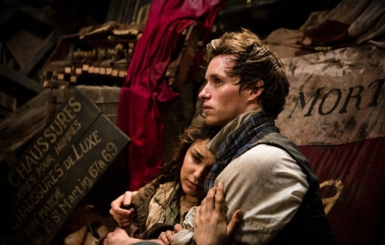 """Filmo stopkadras/Pretendentas į """"Metų proveržio"""" apdovanojmą – Eddie Redmayne'as (""""Vargdieniai"""")"""