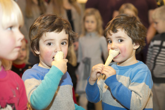 "Viganto Ovadnevo/Žmonės.lt nuotr./""Twins Peak 2014"" renginio akimirka"