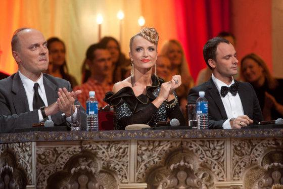 Gretos Skaraitienės nuotr./Komisijos nariai (iš kairės): Giedrius Drukteinis, Edita Daniūtė, Aurelijus Liškauskas