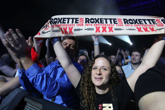 "Teodoro Biliūno/Žmonės.lt nuotr./""Roxette"" koncertas Kaune"