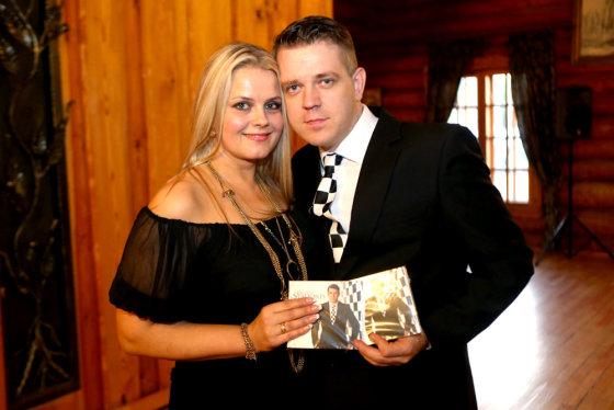 Teodoro Biliūno/Žmonės.lt nuotr./Paulius Stalionis su žmona