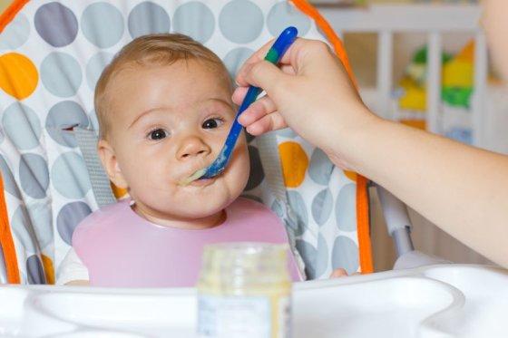 Shutterstock nuotr./Mažylio maitinimas