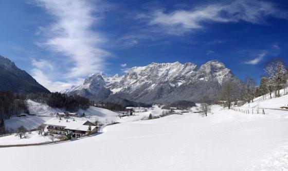 Shutterstock nuotr. / Berchtesgadeno slidinėjimo kurortas Vokietijoje