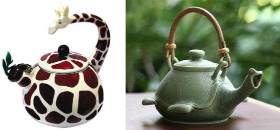 Gyvūnų formos arbatinukai