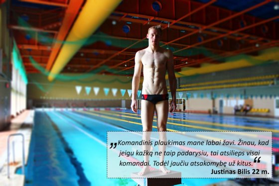 LTUswimming nuotr./Justinas Bilis
