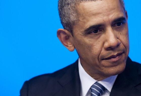 """AFP/""""Scanpix"""" nuotr./Barackas Obama ES ir JAV viršūnių susitikime Briuselyje"""