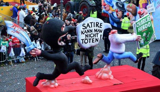 "AFP/""Scanpix"" nuotr./Karnavalas Diuseldorfe"