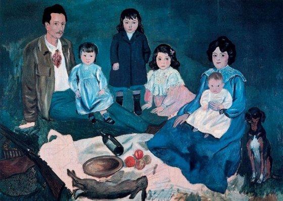 """Pablo Picasso """"La Familie"""""""