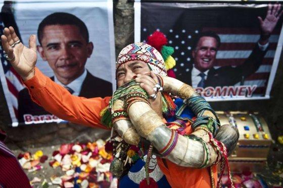 """AFP/""""Scanpix"""" nuotr./Peru šamanas"""