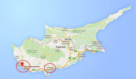 Rusijos karinės bazės Kipre