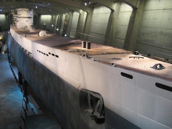 """""""Wikimedia Commons"""" nuotr./""""U-505"""" muziejuje"""