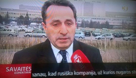 """Kadras iš filmuotos medžiagos/""""Vilstatos"""" vadovas Osmanas Kacyjevas"""