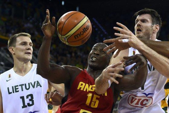 "AFP/""Scanpix"" nuotr./Lietuva – Angola"