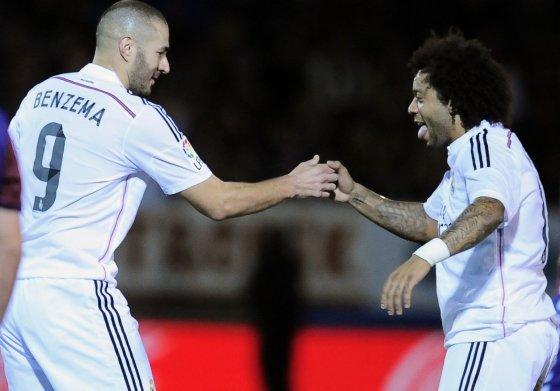 """Scanpix""/AP nuotr./Karimas Benzema ir Marcelo"
