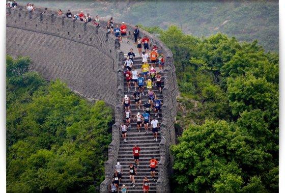 great-wall-marathon.com nuotr./Didžiosios kinų sienos maratonas (Great Wall Marathon)