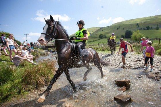 """mpora.com nuotr./""""Žmogus prieš žirgą"""" maratonas (Man vs. Horse Marathon)"""
