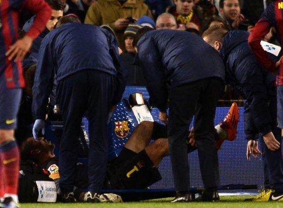 """AFP/""""Scanpix"""" nuotr./Victoras Valdesas sunkiai susižeidė"""