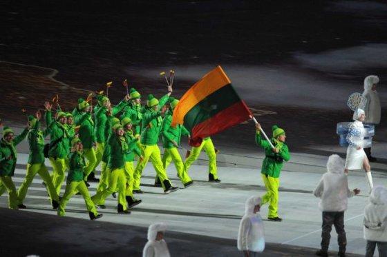 Alfredo Pliadžio nuotr./Lietuvos olimpinė rinktinė