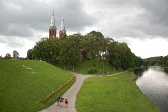 Anykščiai, Šv. Mato apaštalo evangelisto bažnyčia. Įkrauk.lt skaitytojos Jurgitos Bugailiškienės nuotr.