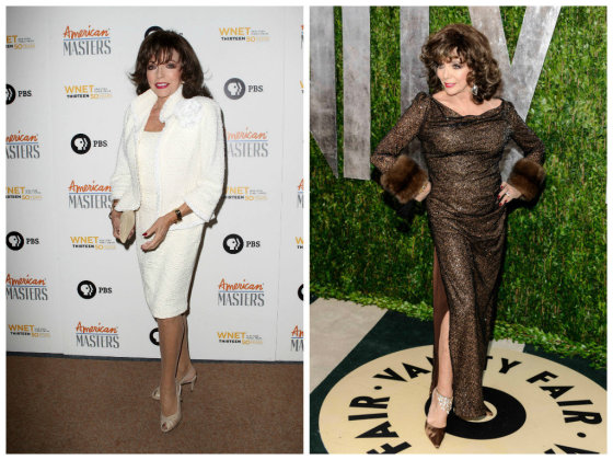 """Scanpix""/""Sipa USA"" nuotr./Joan Collins"