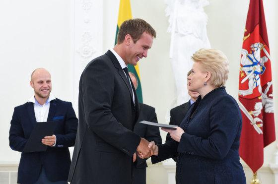 lrp.lt/Jevgenijus Šuklinas gavo padėką iš Lietuvos Prezidentės Dalios Grybauskaitės