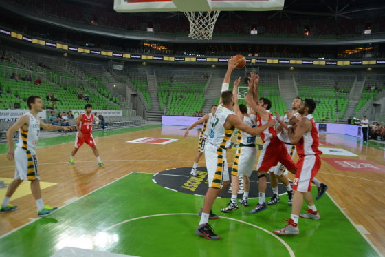 Lietuvos krepšinio rinktinės mačas su Iranu
