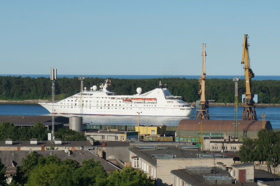 Klaipėdos uosto direkcijos nuotr. /Centrinis Klaipėdos terminalas