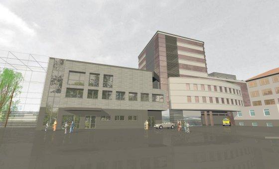 Taip turėtų atrodyti atnaujinta Respublikinė Klaipėdos ligoninė